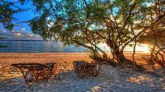 Lovely HDR Beach Wallpaper 38427