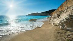 Lovely Ocean Landscape Wallpaper 32310