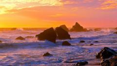 Ocean Sunset 35976