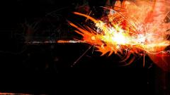 Orange Abstract Wallpaper 27684