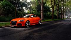 Orange Audi TT Wallpaper 44830