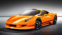 Orange Car Wallpaper 24937