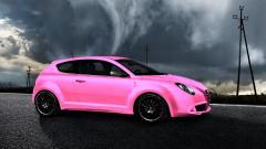 Pink Car 35177