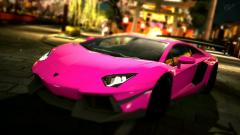 Pink Car Wallpaper 35174