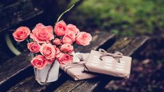 Pink Flowers Mood Wallpaper 43970