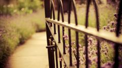 Pretty Fence Wallpaper 44956