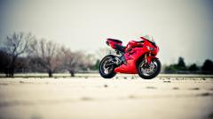 Red Bike Wallpaper 42932