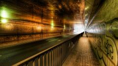 Road Tunnel Wallpaper HD 38515