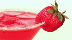 Strawberry Drink Wallpaper 45093