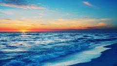 Stunning Ocean Sunset Wallpaper 35977