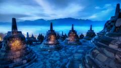 Temple Wallpaper 42650