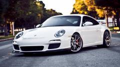 White Porsche Pictures 38906