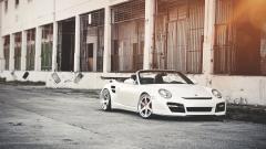 White Porsche Wallpaper 38907