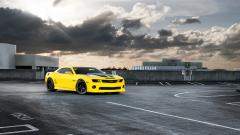 Yellow Camaro Wallpaper 43207