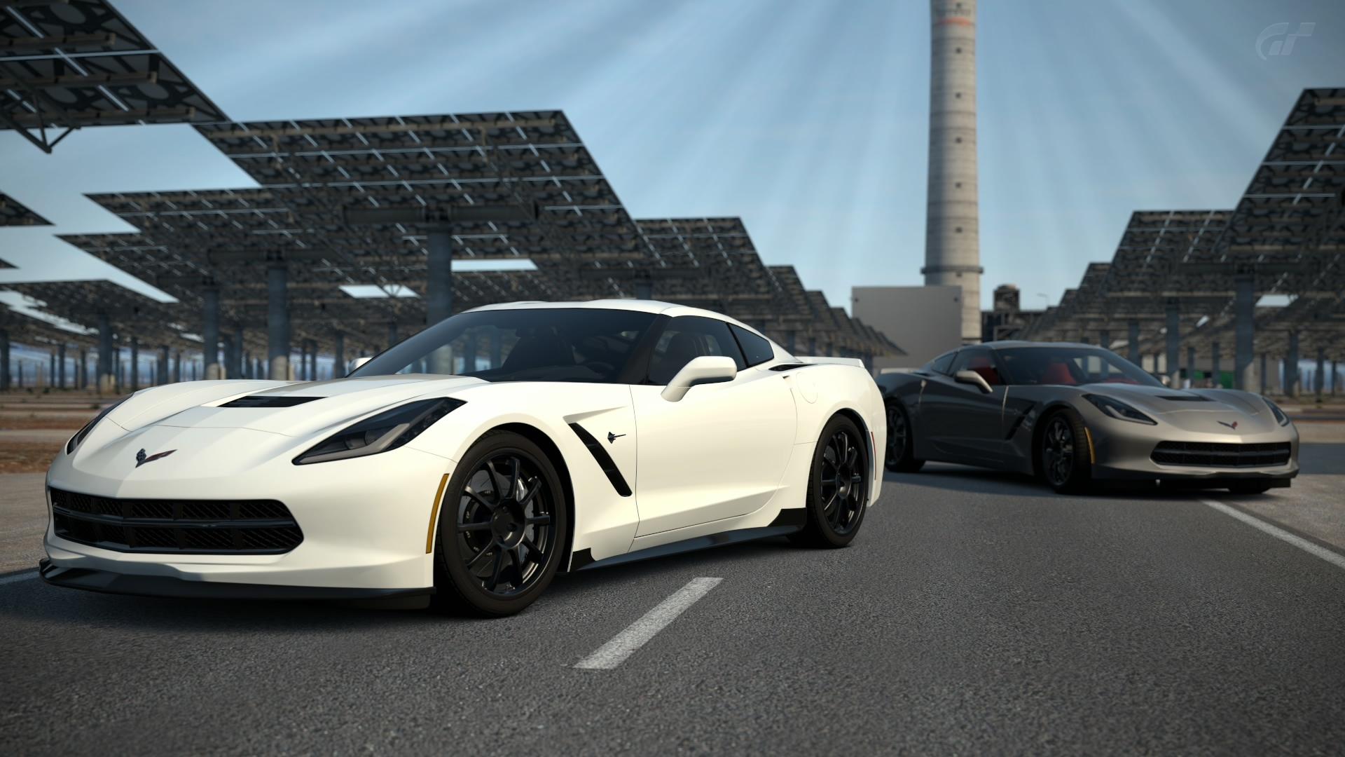 White Corvette Wallpaper 38319 1920x1080px