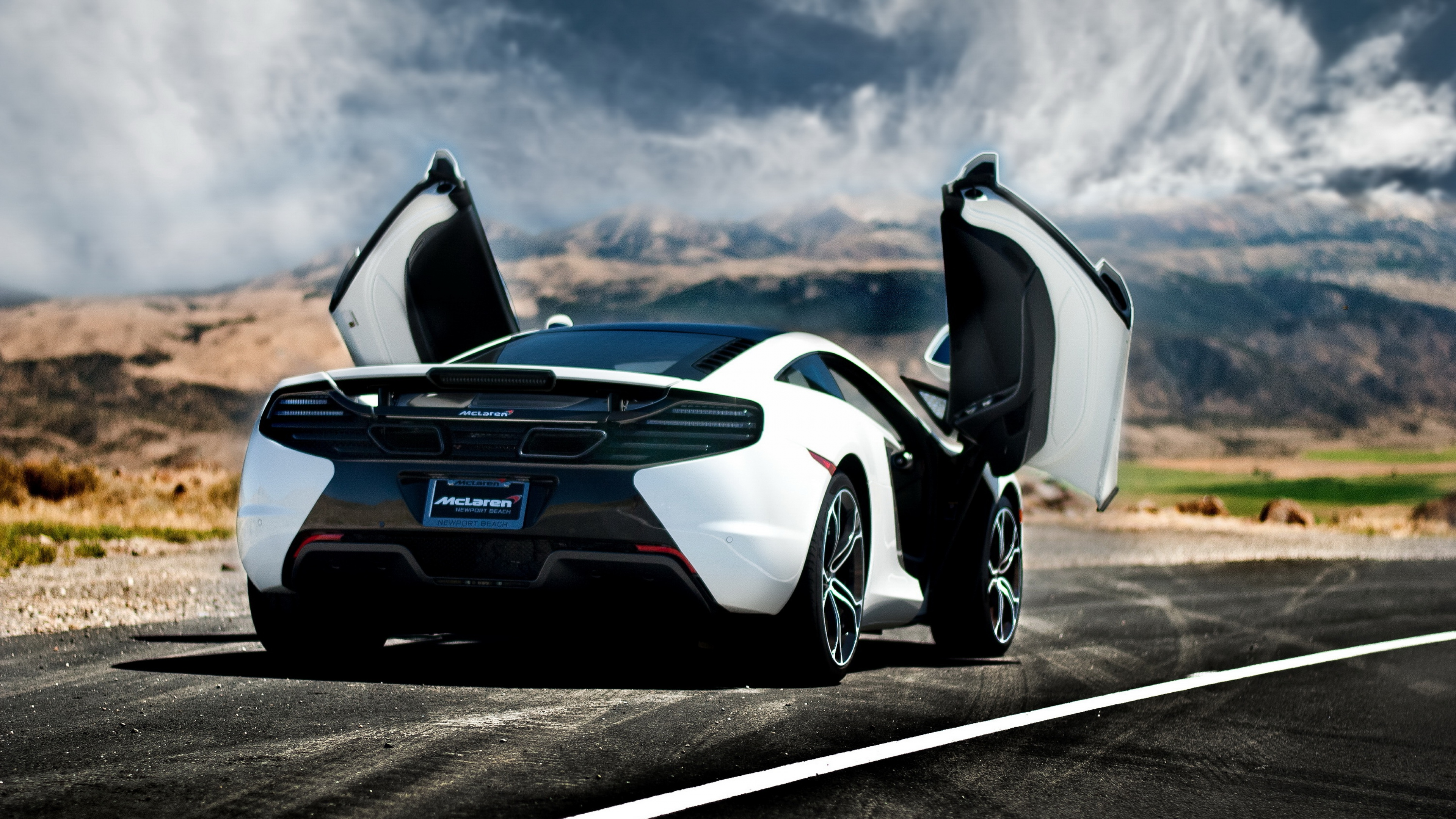 awesome car rear wallpaper 43792