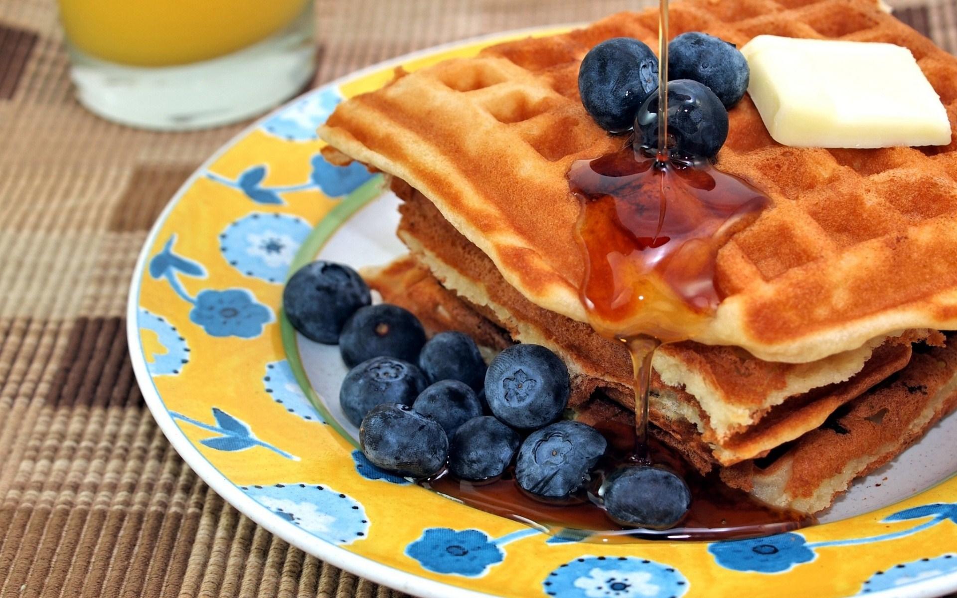 fantastic breakfast wallpaper 39132