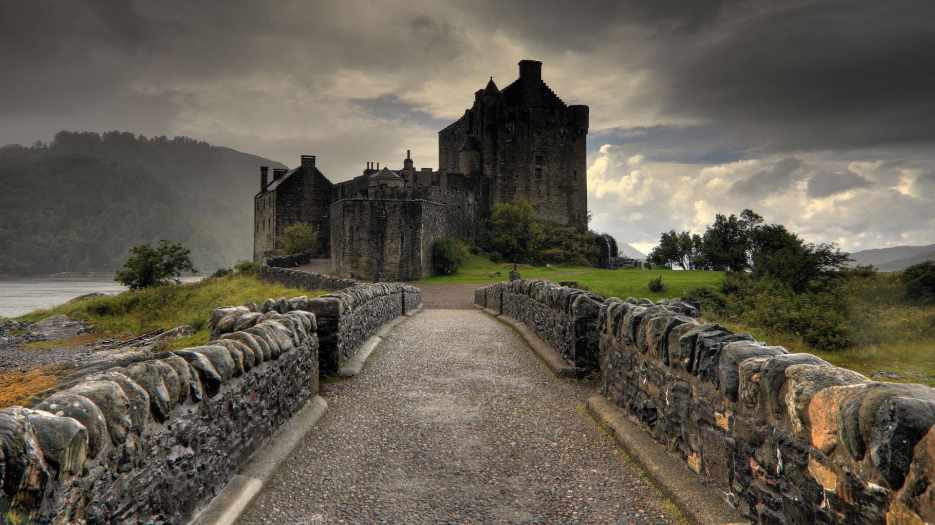 fantastic castle wallpaper 41642