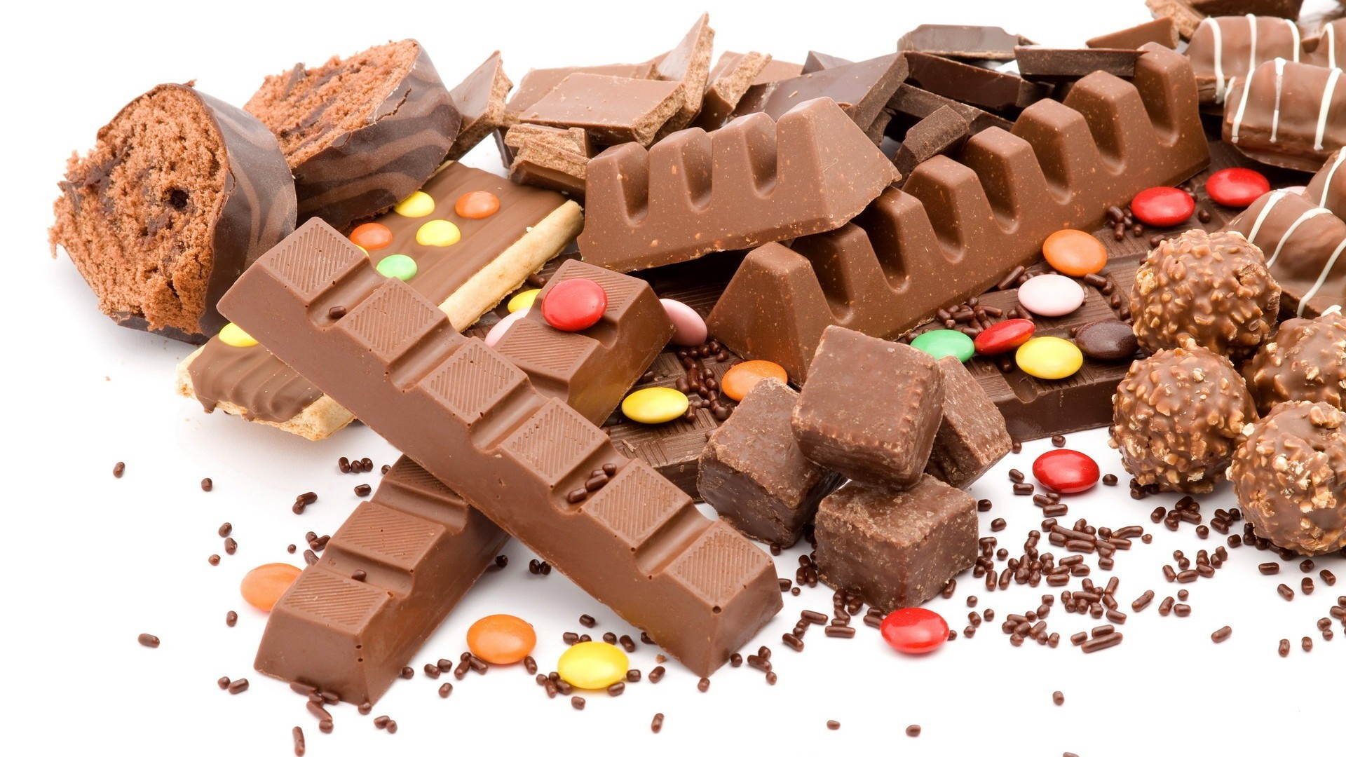 free chocolate candy wallpaper 41406