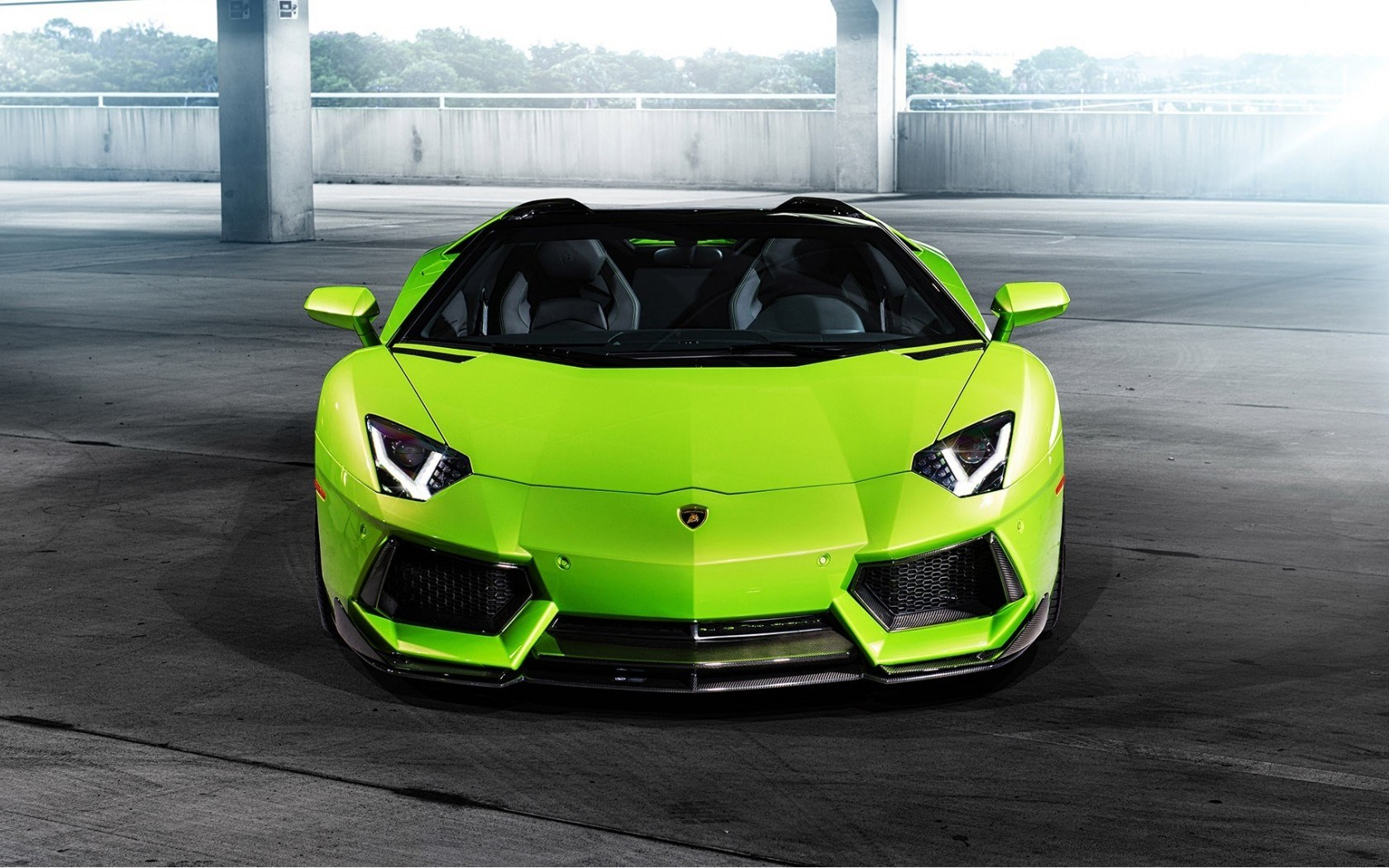 Lamborghini Car Front Wallpaper 43812