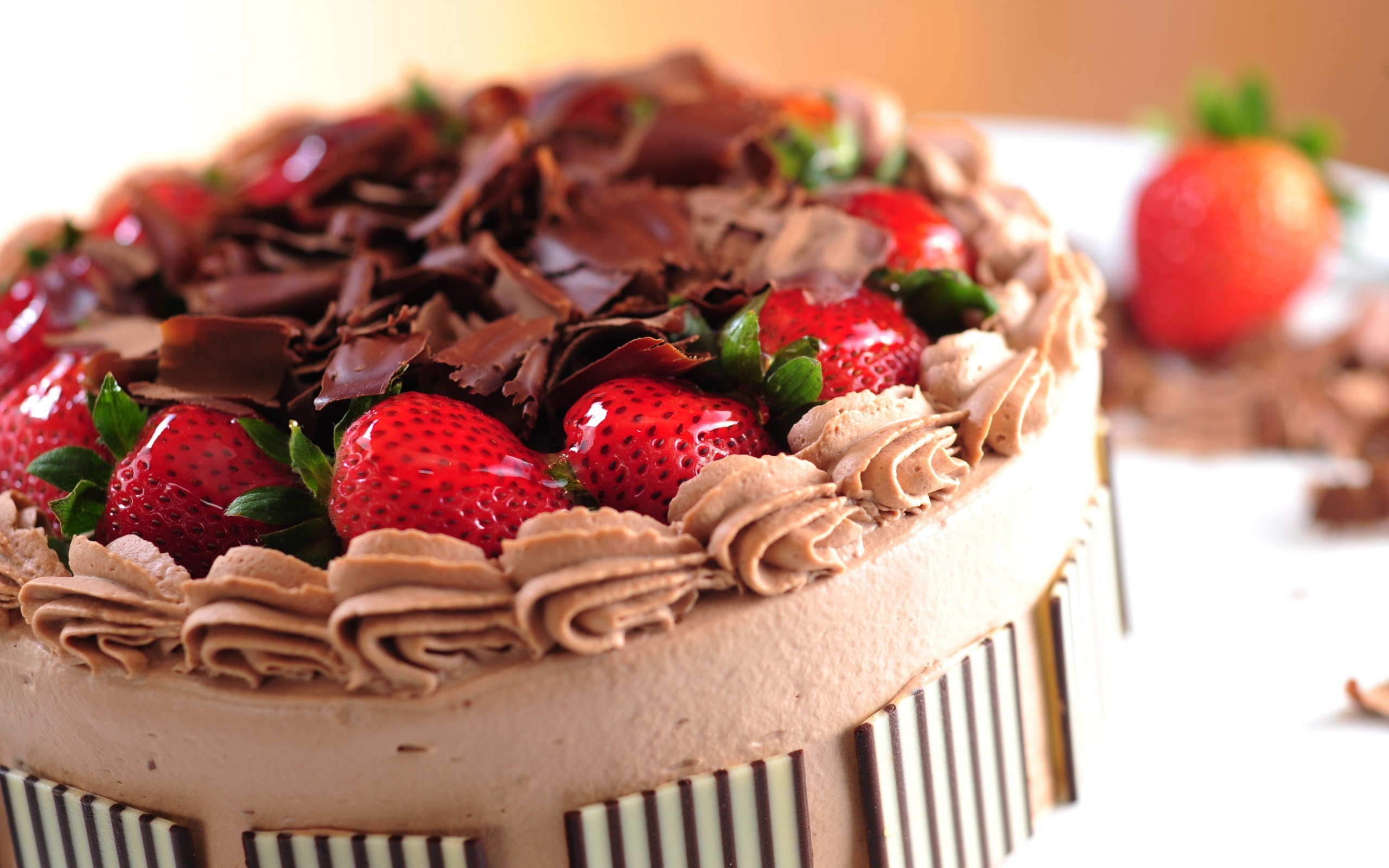 Lovely Dessert Cake Wallpaper 44548
