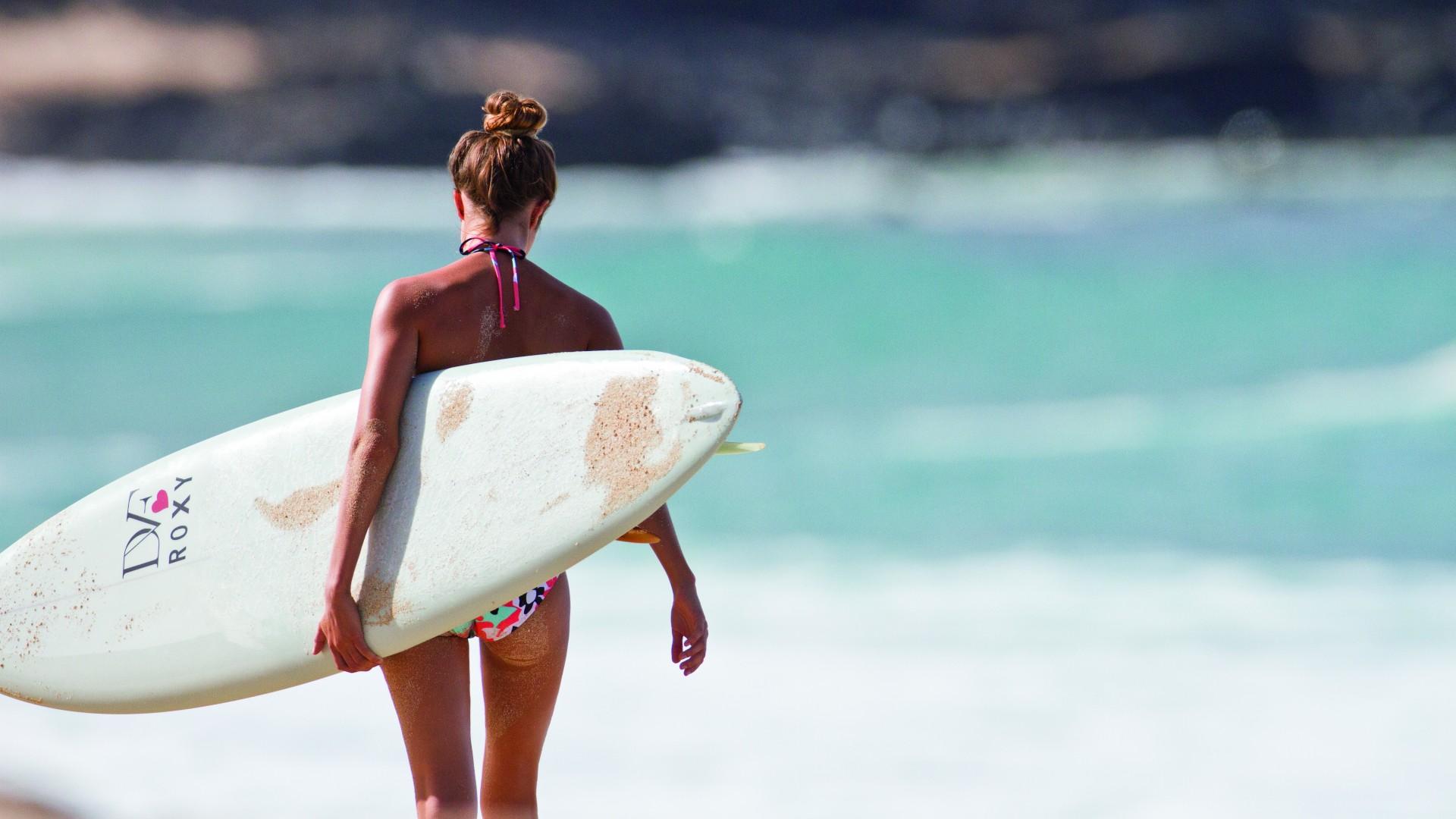 surfer girl desktop wallpaper 58688 1920x1080 px ~ hdwallsource