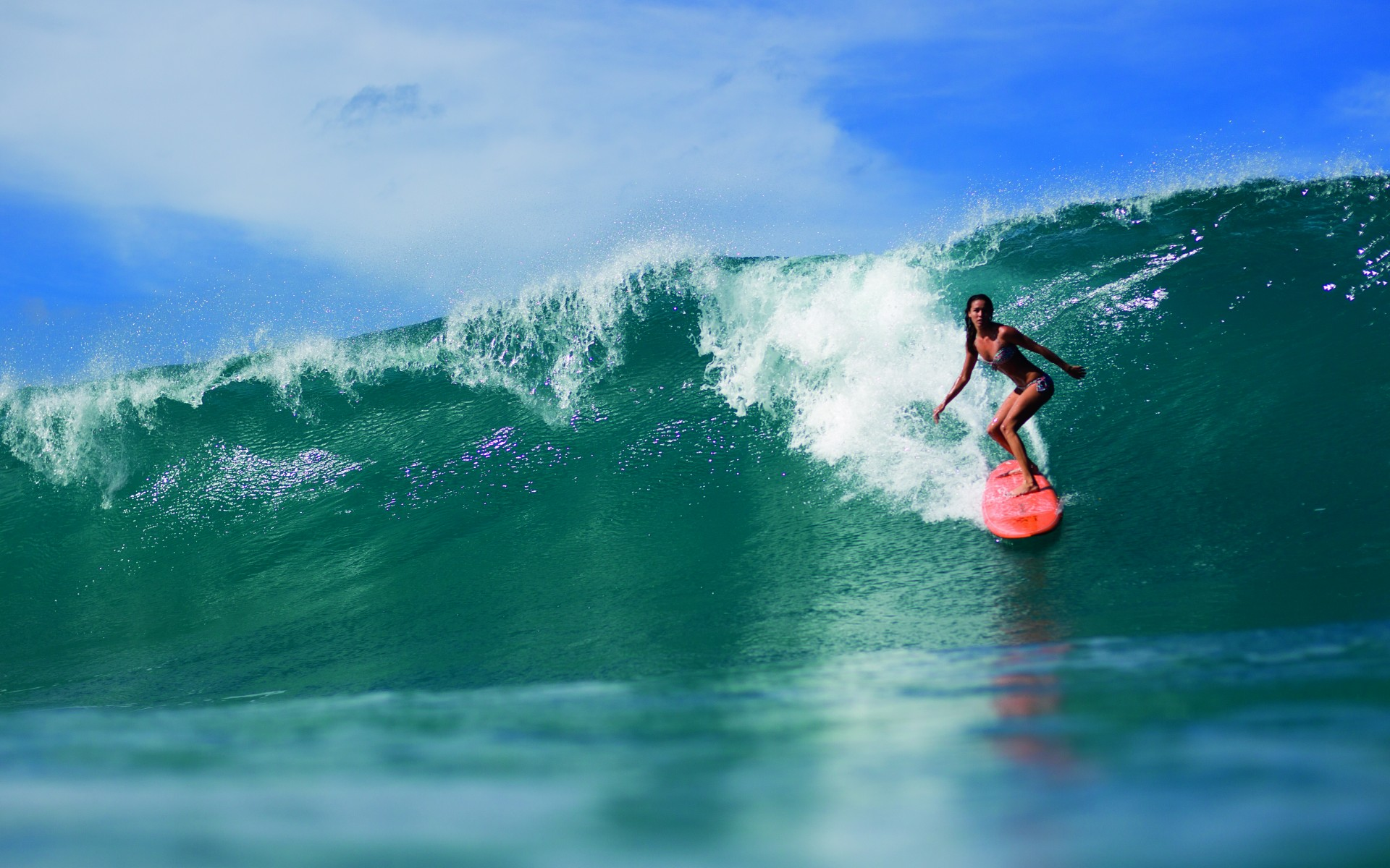 surfer girl desktop wallpaper 58688 1920x1080 px
