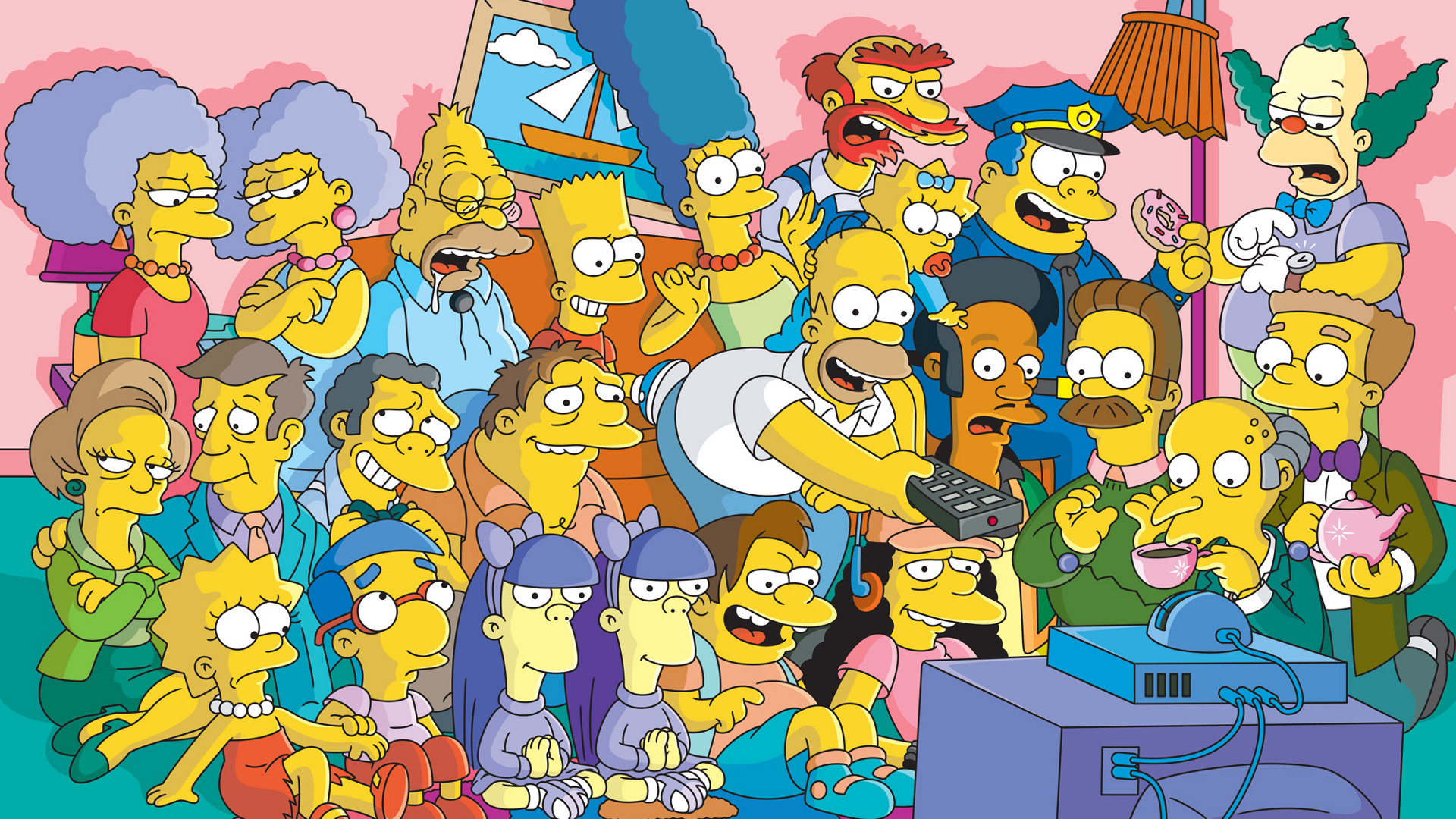 The Simpsons Wallpaper 41041 1920x1080 px HDWallSourcecom