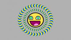Awesome Smiley Face Wallpaper 41020