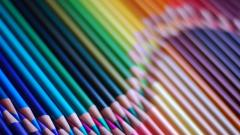 Beautiful Colored Pencils Wallpaper 40941