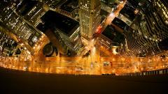 City Lights Background 24320