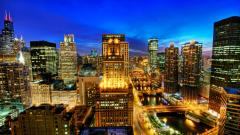 City Lights Wallpaper 24306