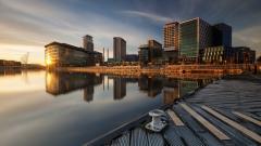 City Morning Wallpaper HD 44709