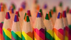 Colorful Colored Pencils Wallpaper 40946