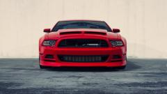 Ford Mustang Car Front Wallpaper 43811