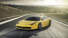 Free Yellow Ferrari Wallpaper 36217