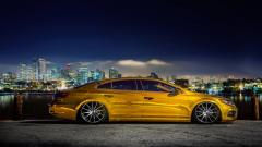 Gold Car Wallpaper 43453