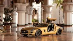 Gold Car Wallpaper HD 43450