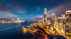 HD City Lights Wallpaper 24317