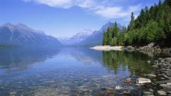 Lake Shore Wallpaper 26563