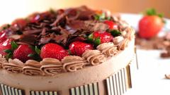 Lovely Dessert Cake Wallpaper 44548