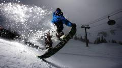 Stunning Snowboarding Wallpaper 43454