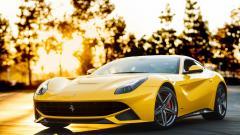 Yellow Ferrari 36204