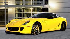 Yellow Ferrari 36220