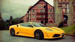 Yellow Ferrari Background 36202