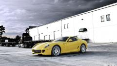 Yellow Ferrari Wallpaper 36218