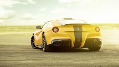 Yellow Ferrari Wallpaper 36222