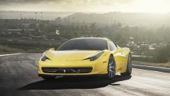 Yellow Ferrari Wallpapers 36216