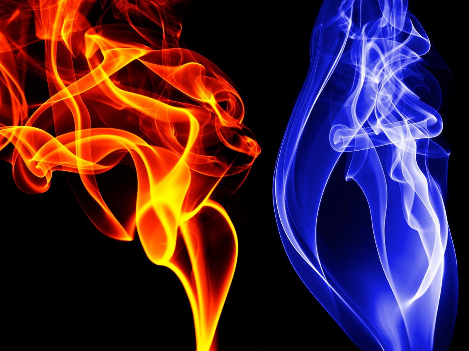 blue fire wallpaper 43279