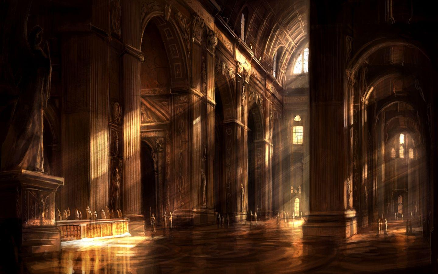 free cathedral wallpaper 30240